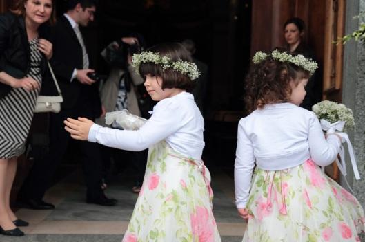 I bambini in un matrimonio sono sempre soggetti molto interessanti per la loro spontaneità